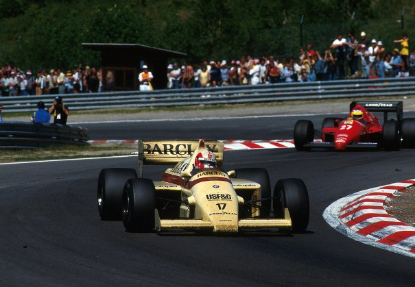 Marc Surer Arrows Bmw A8 Amp Michele Albor Formula 1