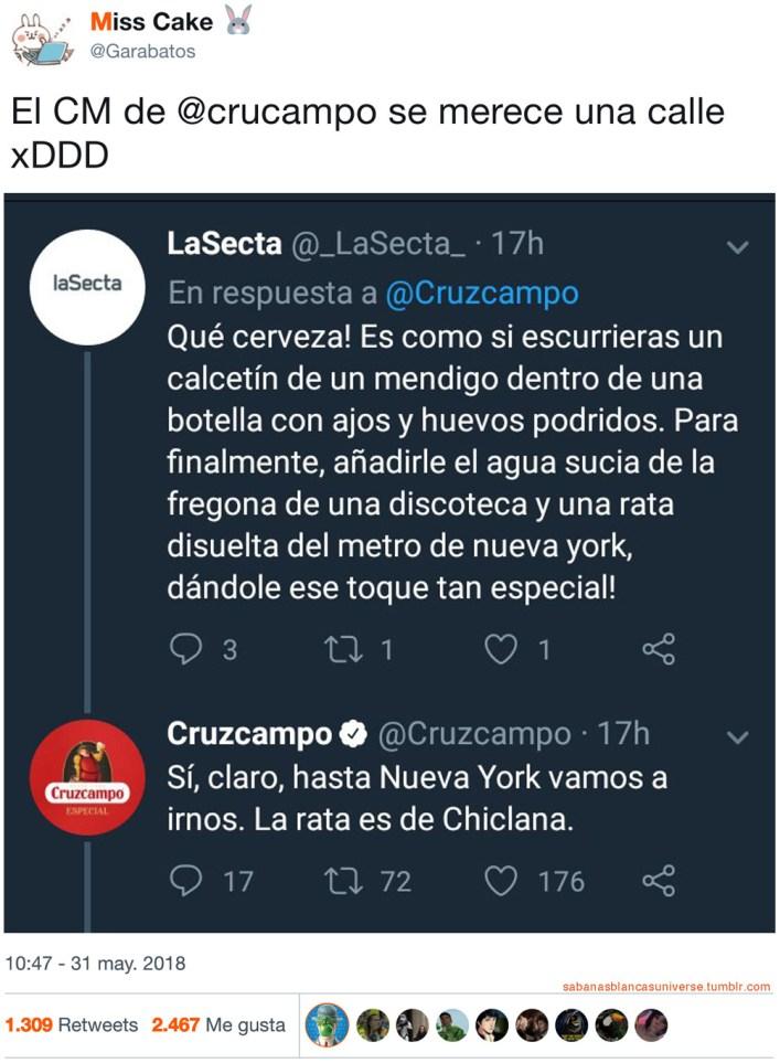Cruzcampo, la más odiada de España