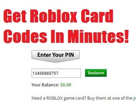 Roblox Game Card Codes | Games World