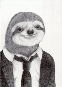 Slow-ass Sloth