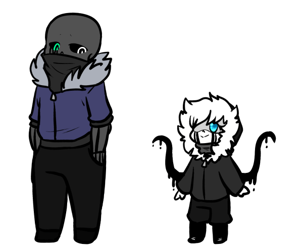 Killer Sans And Nightmare Sans - Year of Clean Water