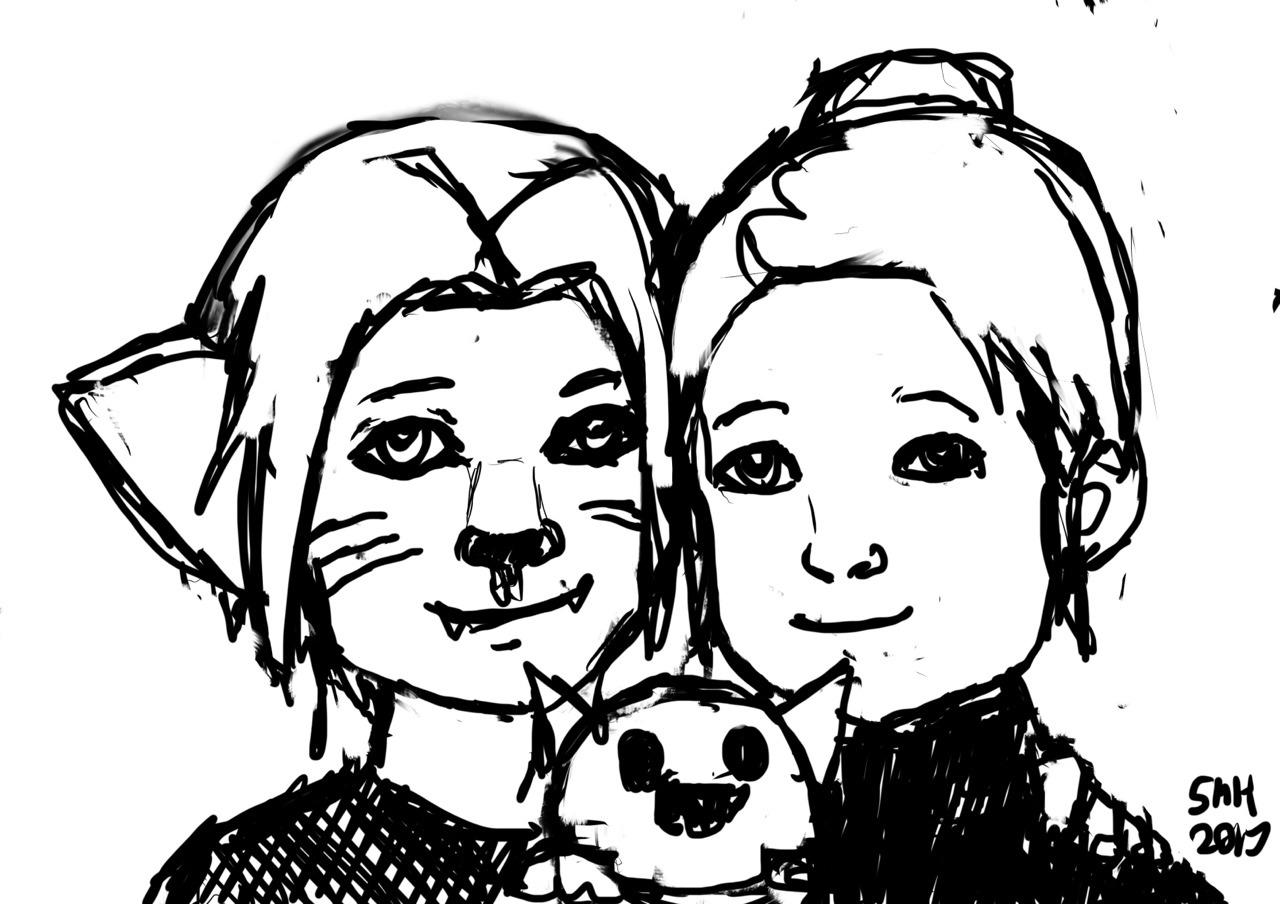 I dislike naming things. — Kitty Ed, Robot kitten Al and