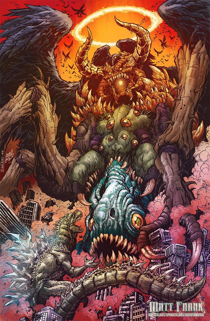 Godzilla Neo VS The Devil by KaijuSamurai – Horror