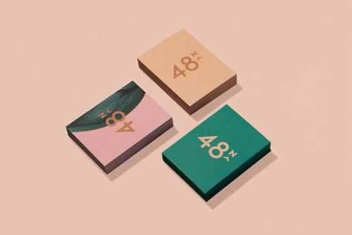 "tumblr_pdbh6xsGPp1r5vojso2_500 Brand identity for 48North by Blok Design""48North, a bold female... Design"