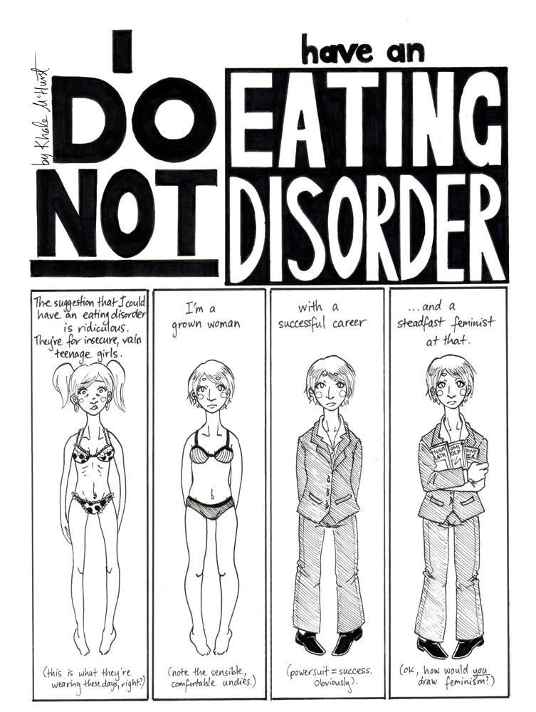 Comics by Khale McHurst · I DO NOT HAVE AN EATING DISORDER