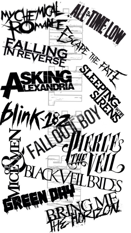 Falling In Reverse Wallpapers For Iphone 5 Sleeping With Sirens Collage Tumblr