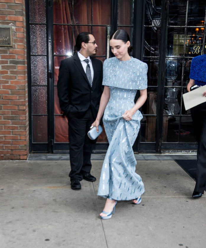 Rooney Mara attends the 'Heavenly Bodies: Fashion & The Catholic Imagination' Costume Institute Gala at The Metropolitan Museum of Art in New York City (May 7, 2018).