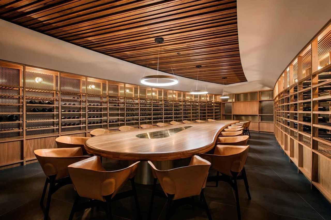 St Hugo Wine Cellar Barossa Valley South  Fine Interiors