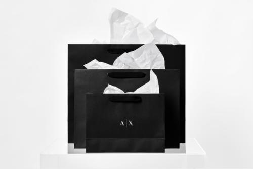 "tumblr_ozjyb6MnCZ1r5vojso2_500 Brand Identity forArmani Exchange by Anagrama""In collaboration... Design"