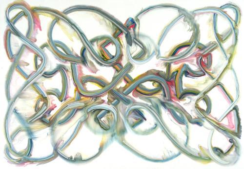 tumblr_ojfpto4bUN1qfc4xho1_500 Bernard Frize, Spitz, 1991 Contemporary