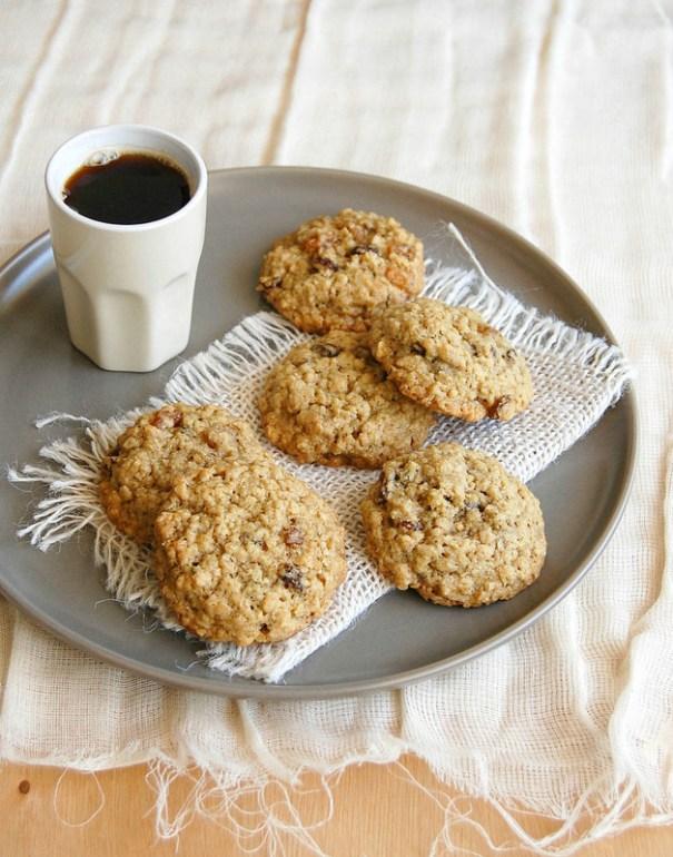 Lemon Raisin Oatmeal Cookies Baking Blog