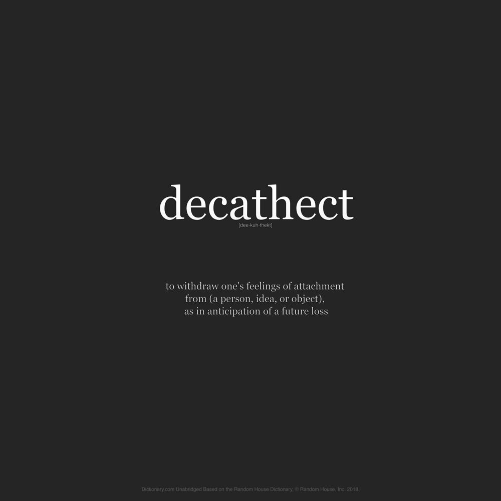 Decathect