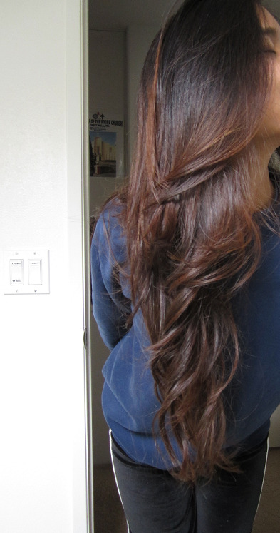 Yoshi09 Got My Hair Henna Dyed With Lushs Caca Marron