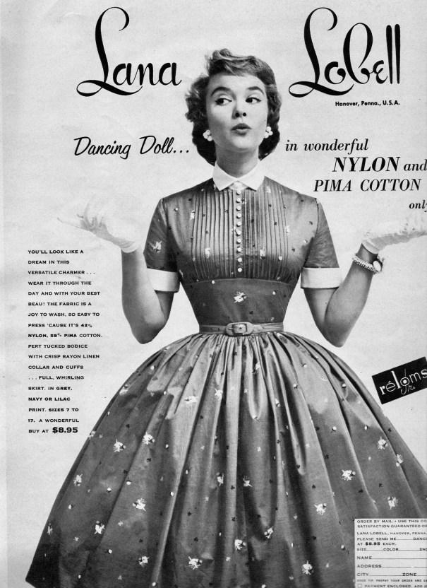 6e9584d883 Lana Lobell 1955 – Vintage Fashion