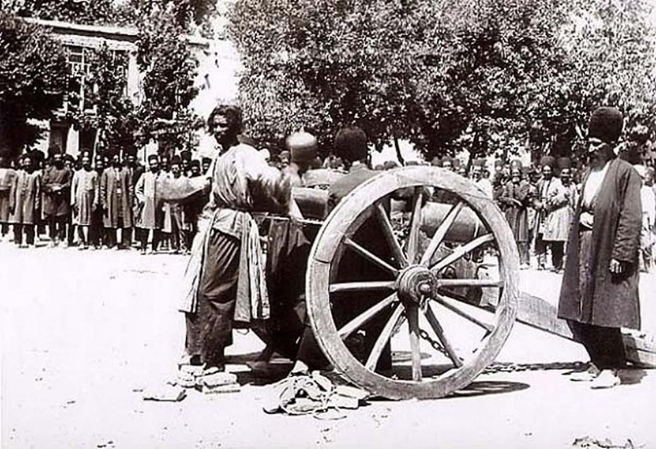 Execution by cannon in Iran, 1890s via reddit The story behind…