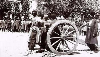 Execution by cannon in Iran, 1890s via reddit The story