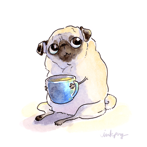 Cute Dog Doodle Wallpaper Inkpug Tumblr