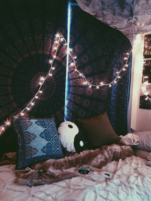 boho dorm room  Tumblr