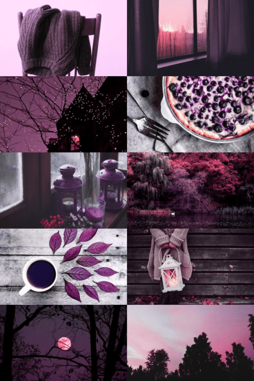 Mythical Creatures In The Fall Wallpaper Aesthetics Purple Tumblr