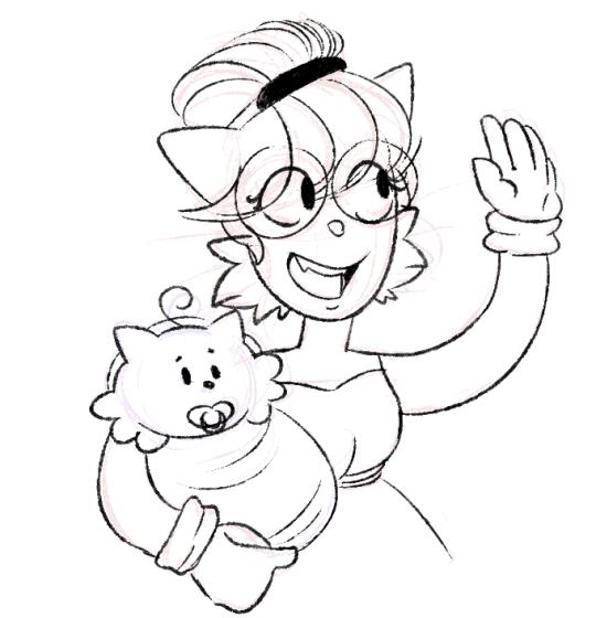 Drawn Puppy Small