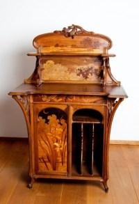 art nouveau furniture on Tumblr