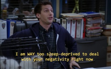 "From ""Brooklyn Nine Nine"""