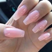 ombre gel nail art