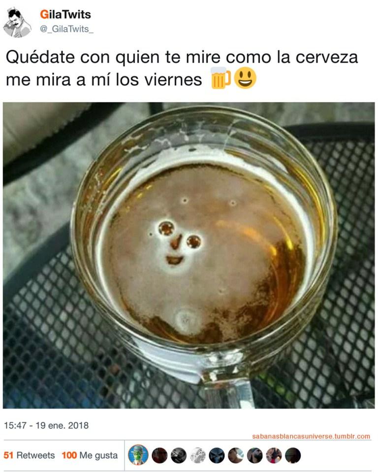 la cerveza de los viernes