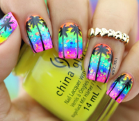 spring break nail art | Tumblr