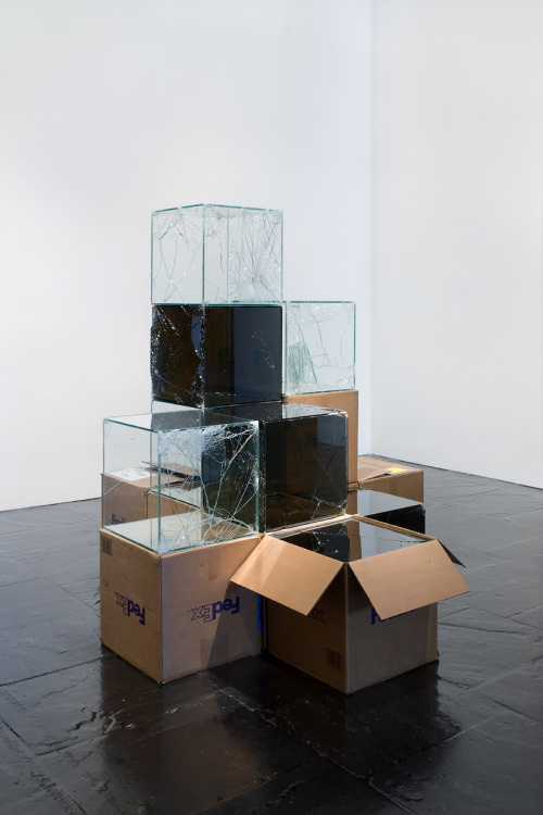 tumblr_nx00gxFgOl1qfc4xho1_500 Walead Beshty,  Installation view, 2008 Biennial Exhibition,... Contemporary