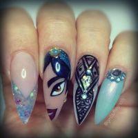 disney princess nail art   Tumblr