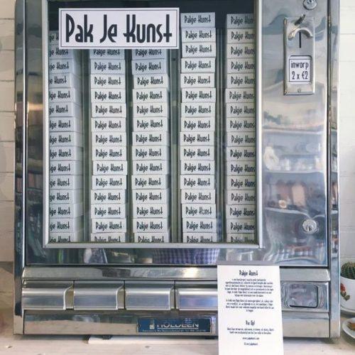 tumblr_p6nwjwekvr1qz6f9yo5_500 Art Dispenser, Pakje Kunst Random