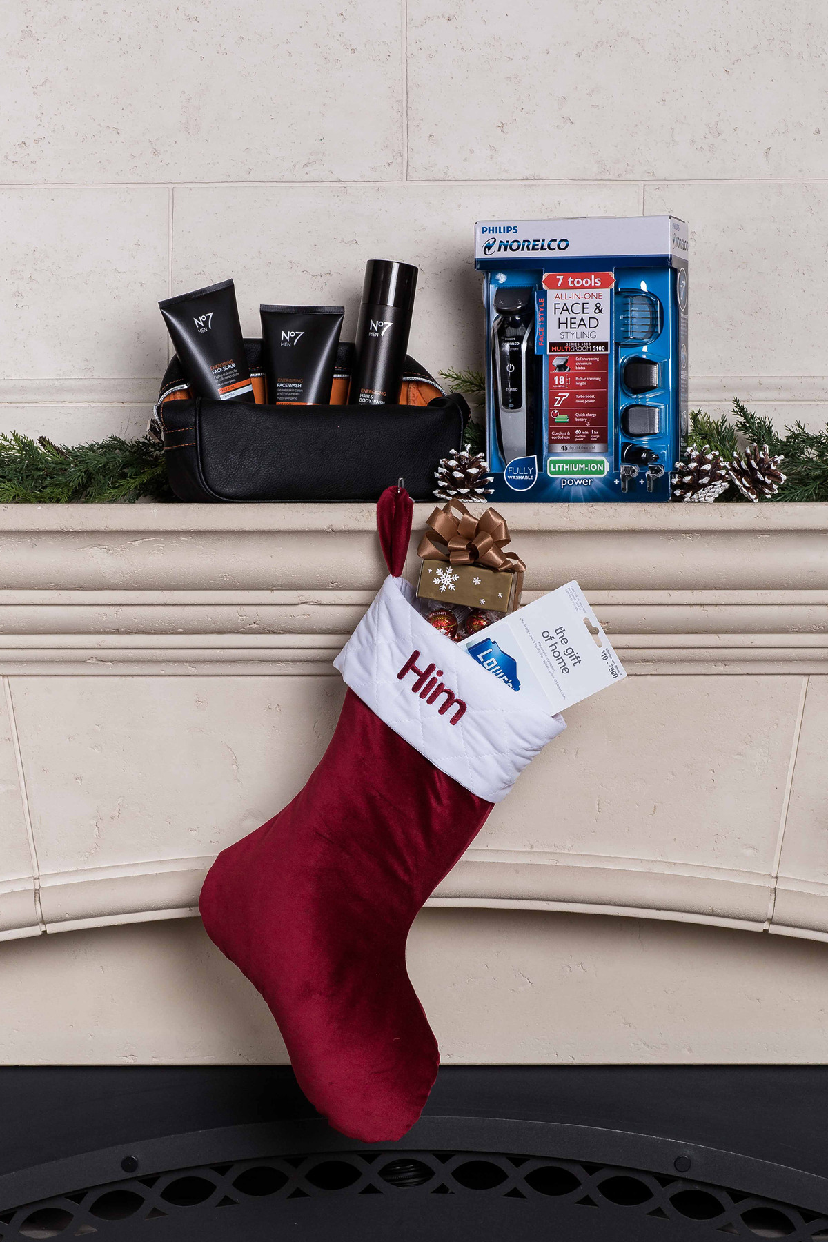 Surprise Him With A Stocking As Well Rounded As
