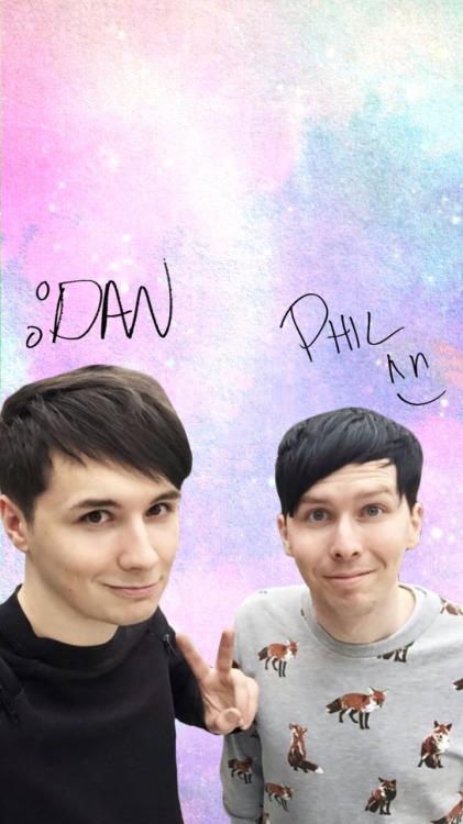 Dan And Phil Iphone Wallpaper Dan And Phil Wallpaper On Tumblr