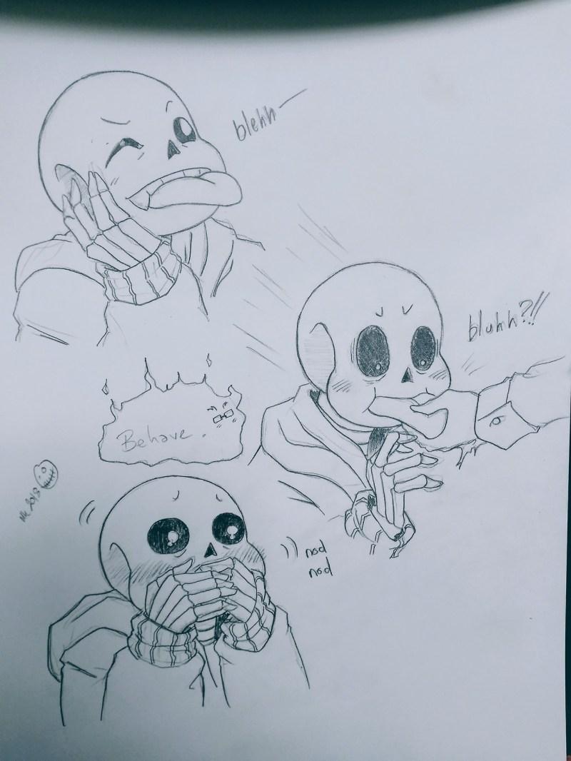 Incredible Mari Kei Makes Doodles Well You Stick Your Tongue