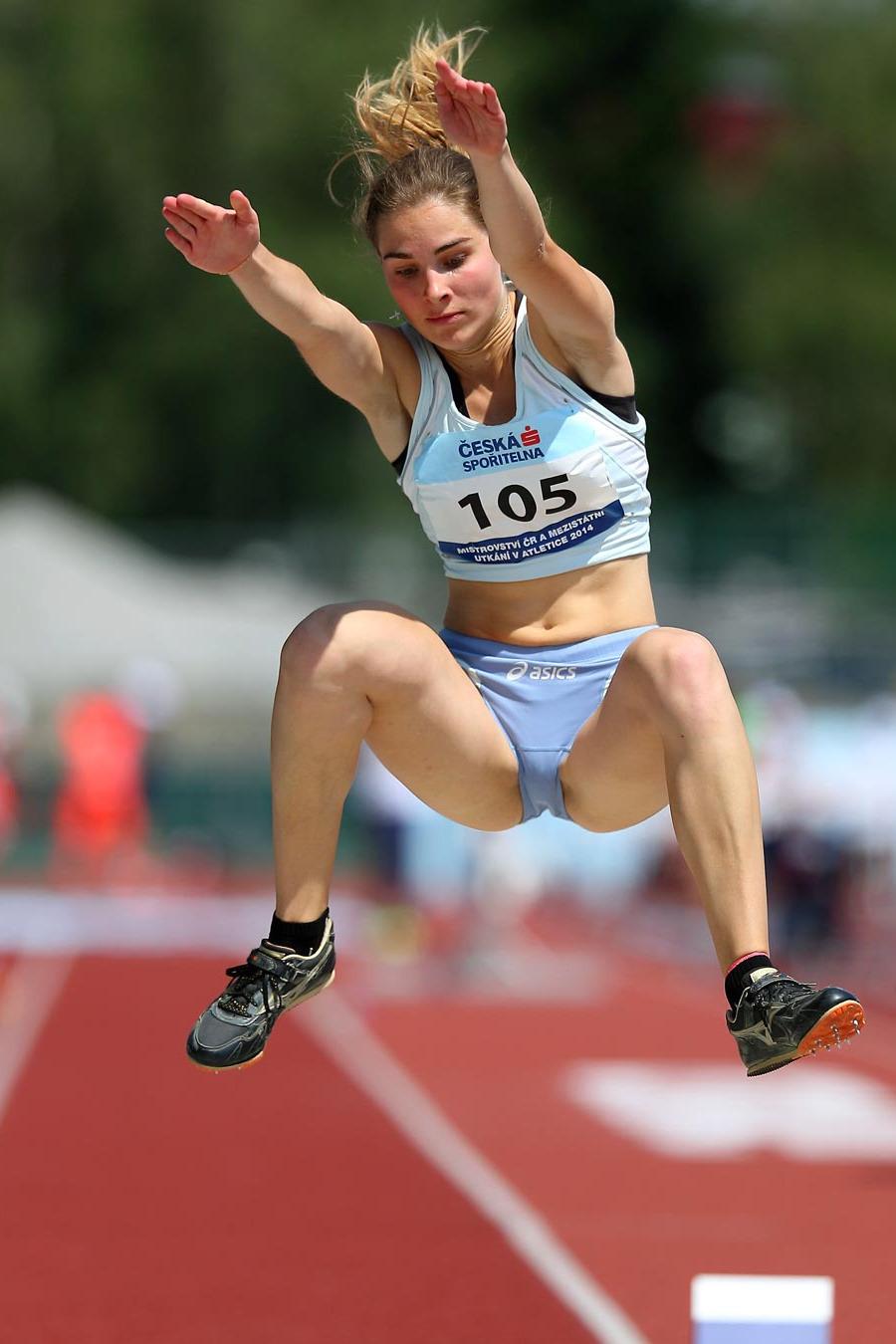 Anamarija Jeraj (Slovenia) Ostrava, CZE – Jul… – Gymnastics
