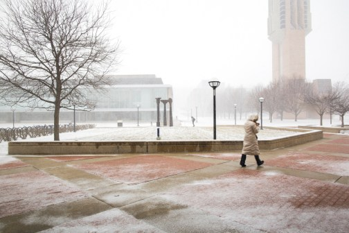 Image result for north campus umich winter