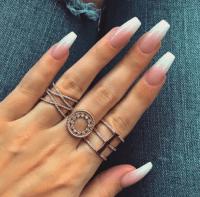 french nail design | Tumblr