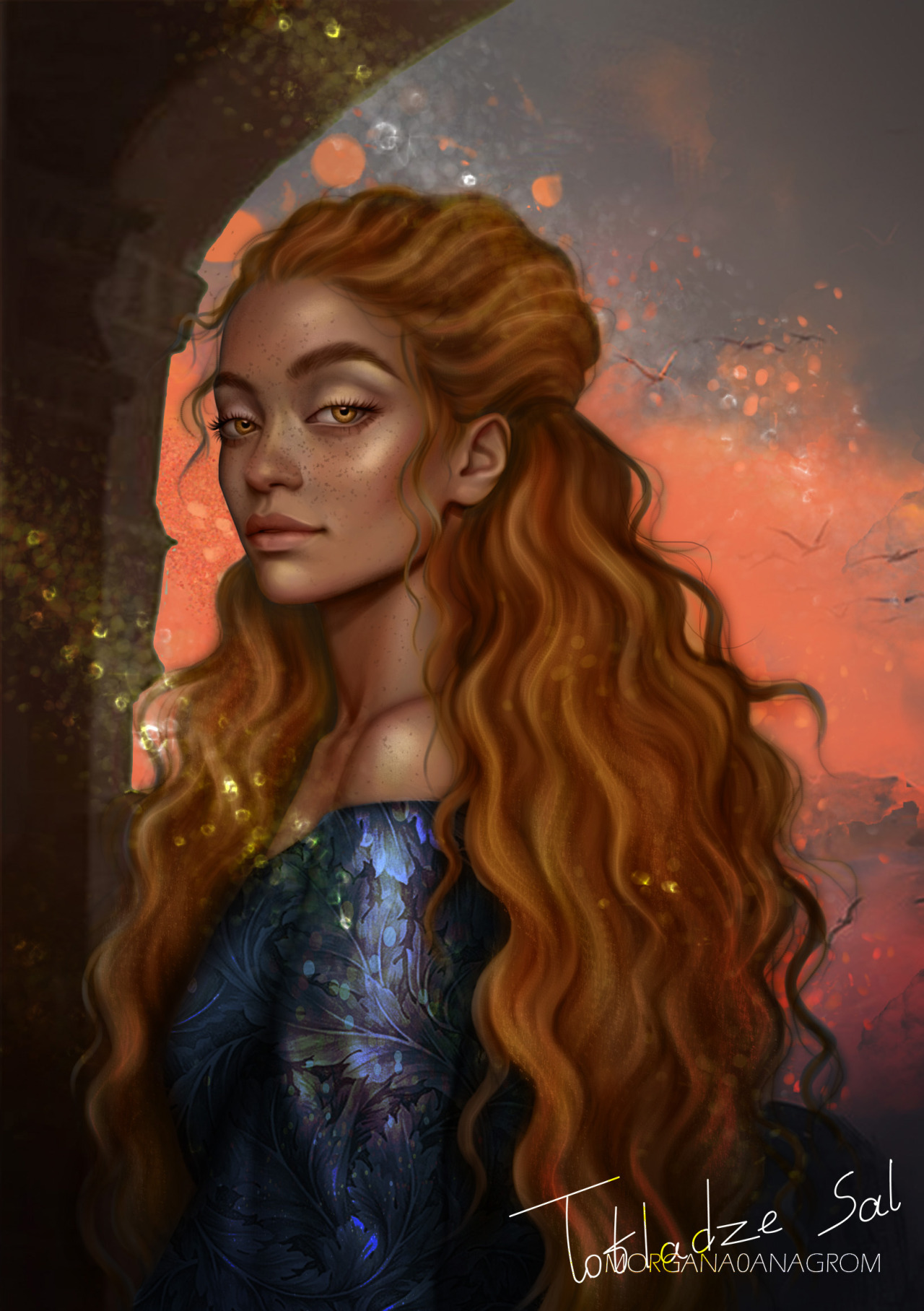 here guys, finished painting Yrene hope you guys will like it ^^ character by @sjmaas