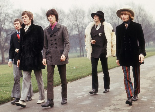 The Rolling Stones At Green Park In London For A Press Call On Rb