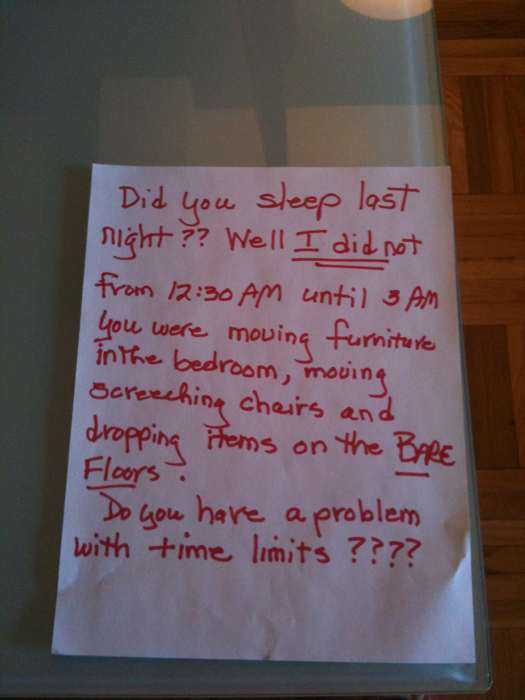 NOTES FROM A NEIGHBOR