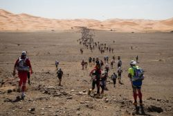 Photographer James Carnegie decided not only to take part in the Marathon des Sables – a gruelling multi‑stage adventure through a formidable landscape in oneof the world's most inhospitable climates… the Sahara desert – but to document it at the same time.Read the inspiring story at avauntmagazine.com