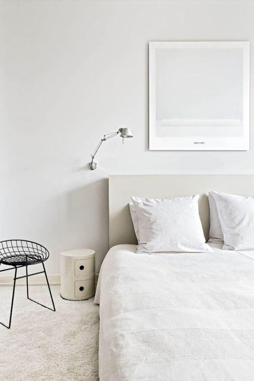 white bedroom on Tumblr