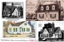 1940s Cape Cod House Plans Sears
