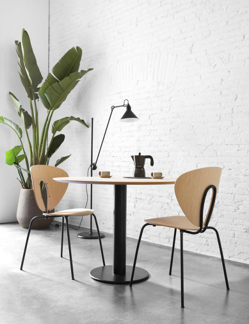tumblr_om6qpdViA71qfx0suo1_500 stua:  UPDATED LOOK. The STUA Globus chair and the Zero table... Contemporary