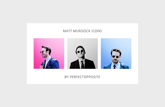 perfectopposite: Matt Murdock icons (requested… – The Defenders