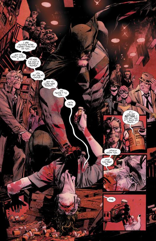 Batman - The White Knight 1, Joker Assaulted