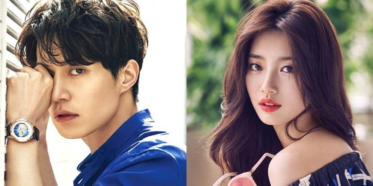 Image result for Lee Dong Wook and Suzy