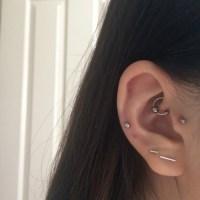 tragus piercing | Tumblr