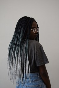 ombre box braids | Tumblr